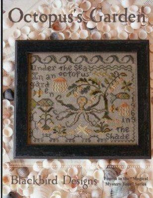 Octopus's Garden Cross Stitch Chart (Cross Garden Chart Stitch)