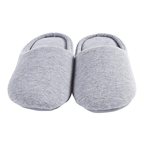 Ofoot - zapatillas de andar por casa mujer Gris - gris
