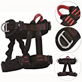Pro Safety Half Body Tree Rigging Rock Climbing Rappelling Harness Equipment