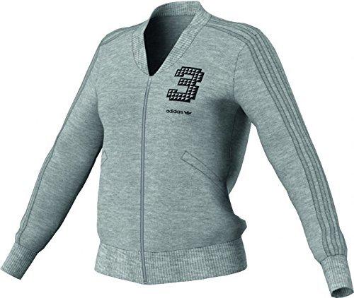 Adidas EF MGH Track Top Pull Zip Sweater Veste Sweat à Capuche, z34803, gris