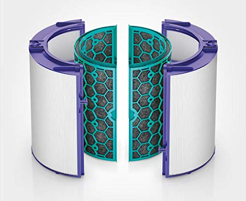 Stage Glass (Dyson Replacement (TP04/DP04) Pure Cool Sealed Two Stage 360° Filter System, Purple/Teal)
