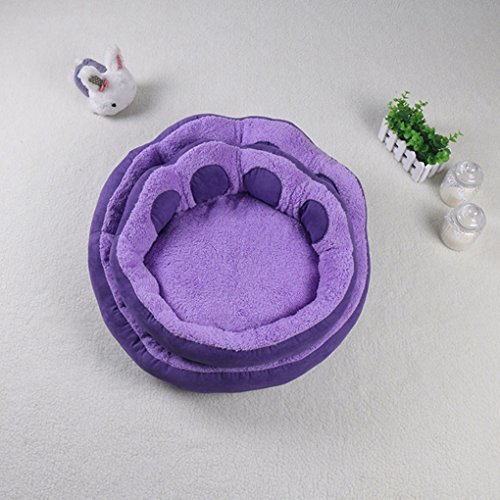 Pet Bed Anti-Slip Bottom Shaped Dog Sofa Bed with Soft and Cozy Plush Portable Dog Mattress for Small Medium Dogs Cats