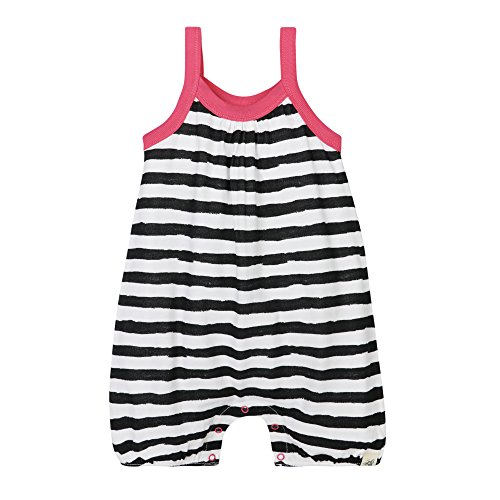 Price comparison product image Burt's Bees Baby Girls' Organic Tank Romper, Onyx, 18 Months