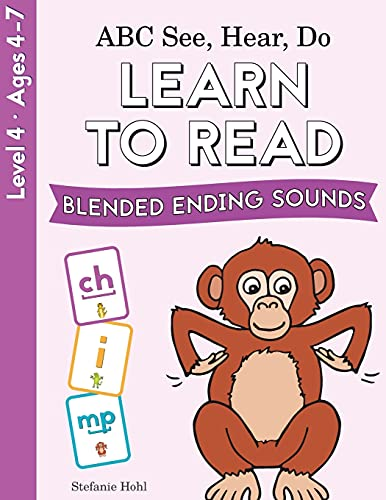 ABC See, Hear, Do Level 4: Learn to Read Blended