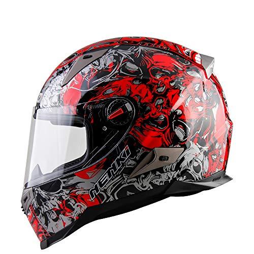Casco homologado con máscara Abierta Casco Moto Flip Casco Moto Flip Casco Moto Casco D.O.T & ECE 22.05 Aprobado - M, L, XL,...