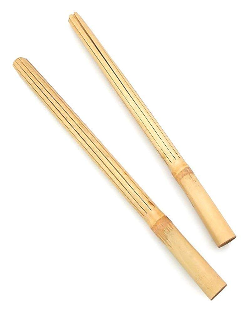 Islander Hula Dancing Puili Sticks 6 Packs of 2 Each 12 Sticks Total