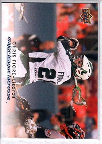 Lacrosse 2010 Upper Deck Lacrosse #61 Chris Fiore - Fiore Single