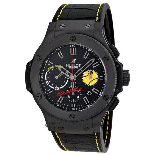 Hublot Nastie Bang Black Dial Black Ceramic Mens Watch 301CI8017GRNST11