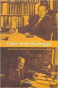 Book Zubiri ante Heidegger (R) (2008)