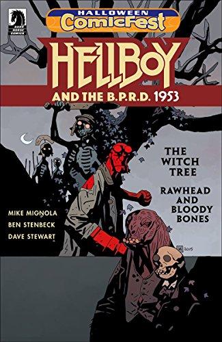 HCF 2017 HELLBOY BRPD 1953 WITCH TREE RAWHEAD BLOODY BONES