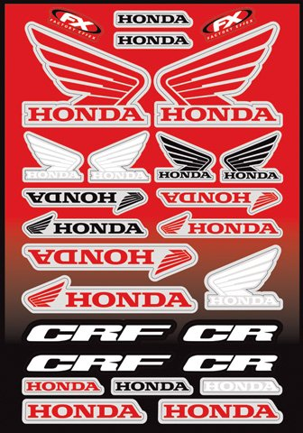 Compare Price To Honda Racing Stickers Motorcycle Tragerlaw Biz