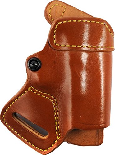 Gould & Goodrich 806-G17 Gold Line Small Of Back Holster (Chestnut Brown) Fits GLOCK 17, 19, 22, 23, 31, 32, 36.