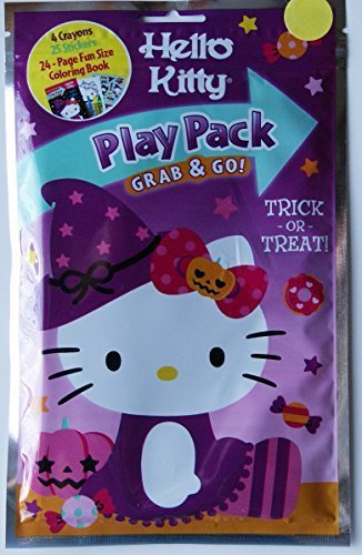 Hello Kitty Coloring Pages Halloween (Halloween Hello Kitty Grab and Go Play)