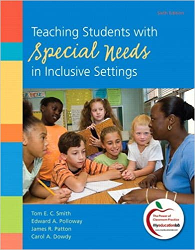 Fifth Canadian Edition 5th Edition Teaching Students with Special Needs in Inclusive Settings
