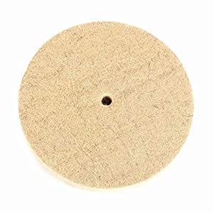 Wool Felt Polishing Grinding Wheel Disc Pad used in Fine Polishing of Stainless Steel, Copper, Aluminum
