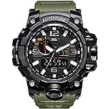V2A Army Shockproof Waterproof Analog-Digital Sports Watch for Men