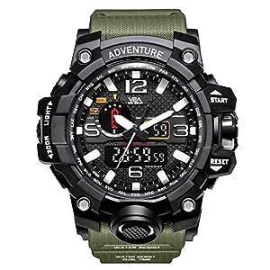Men's Watch (Multi Colored Strap)
