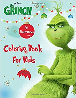 Dr. Seuss\' The Grinch Coloring Book For Kids: Fun Coloring ...
