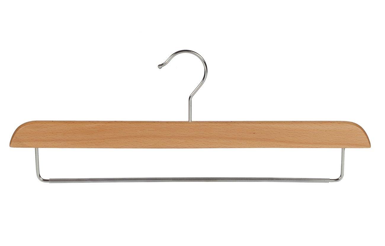 5 x Percha para pantal/ón con barra met/álica antideslizante 40 cm EL GIGANTE DE LA PERCHA