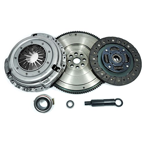 Pickup Clutch Flywheel - PPC HD CLUTCH KIT+FLYWHEEL for 98-99 NISSAN FRONTIER 96-97 PICKUP 2.4L 2WD 4WD