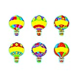 ARGUS Hot Air Balloon Classic Accents, 36/Pkg (T-10987)
