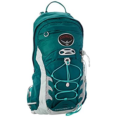 Osprey Packs Women's Tempest 9 Backpack, Tourmaline Green, X-Small/Small