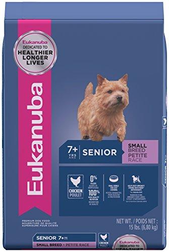 Eukanuba Senior Small Breed Dog Food 15 Pounds