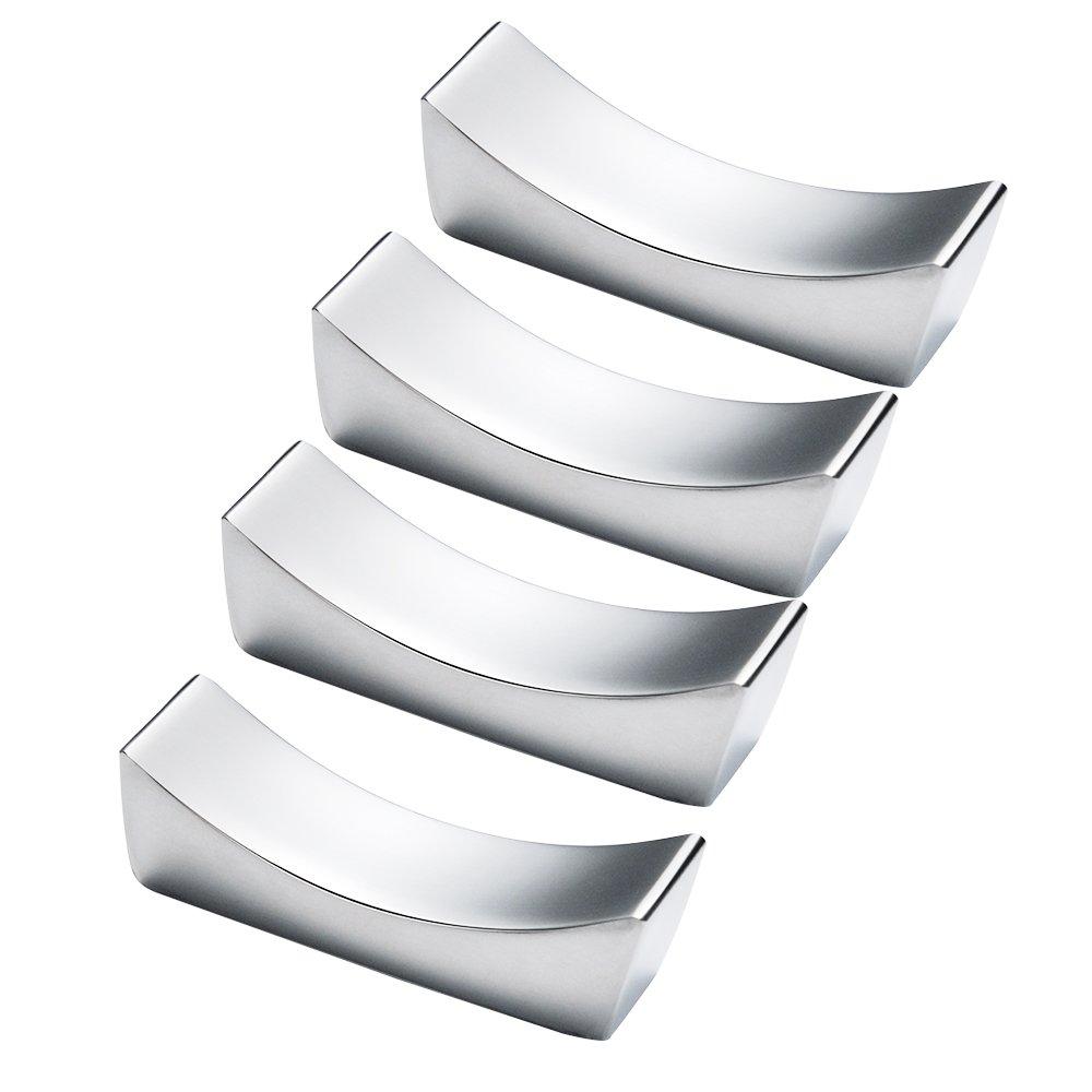 Mylifeunit poggia bacchette in acciaio INOX, supporto per forcella riposo e bacchette, set di 4 IG-SRNG-YM9C
