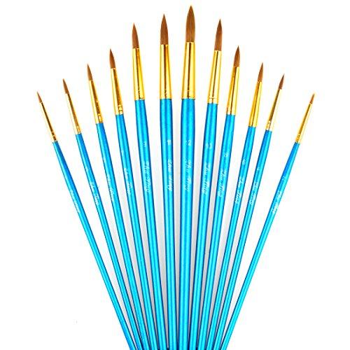 paint-brushes-laniakea-12pcs-round-paint-brush-set-for-watercolor-oil-acrylic-crafts-rock-face-paint