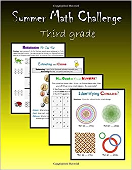 Summer Math Challenge: Third grade: C  Mahoney: 9781511676731
