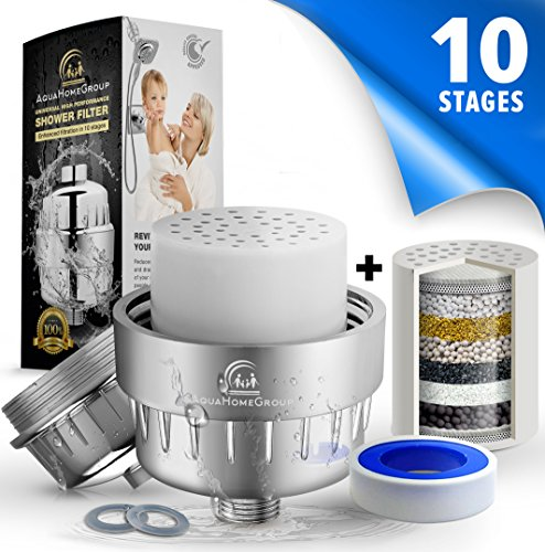 10 12 Stage Shower Water Filter 2 Cartridge Included