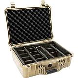 1520 - Case 18.06X12.89X6.72In Tan W/Div