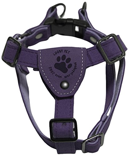 GOOBY Luxury Step-in Harness, Small, Purple