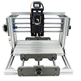 Best mini metal milling machine - 2-in-1 DIY CNC Router Kit+5500mW Laser Engraver, 24x17cm Review