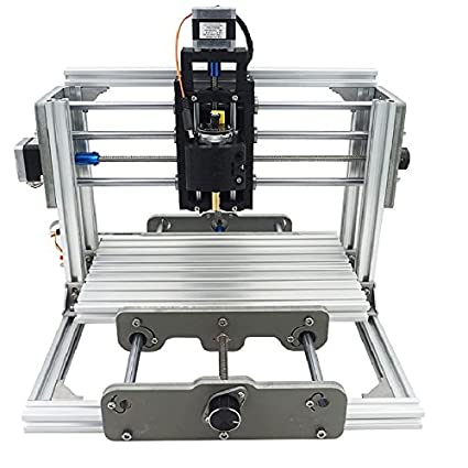 DIY CNC Router Kit, 24x17cm, Mini Milling Machine, USB Desktop Engraving Carving Machine, For Wood and Metal - - Amazon.com