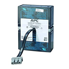 "APC UPS Battery Replacement for APC Back-UPS APC UPS Models BT1500, BT1500BP, BR1500, BX1500, SC1000, SN1000 (RBC33) 4 BUY ONLY GENUINE APC PRODUCTS! For genuine APC by Schneider Electric Products from the manufacturer, buy only if the product says ""Ships from and sold by Amazon.com"" Genuine APC replacement battery cartridges (RBC) are tested and certified for compatibility to restore UPS performance to the original specifications Includes all required connectors, Battery recycling guide, Installation guide, Reusable packaging"