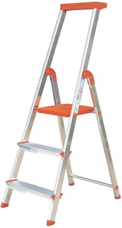 Escalera Rolser Aluminio BriColor 3 Peldaños - Malva: Amazon.es: Bricolaje y herramientas