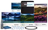 Lee Filters 77mm Special Edition Landscape Kit 1 - FK Holder, 77mm Wide Angle Adapter Ring, Soft Edge Set, Big Stopper, NEW Lee 105mm Slim Landscape Circular Polarizer & Front Accessory Ring, with 2filter cleaning kit