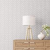 STENCILIT® Herringbone Simple Large Wall Stencil