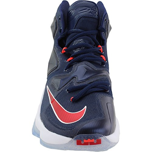 Shoes Basketball Men Blue XIII Nvy white Lebron bright NIKE Mid White Rd Unvrsty Red Navy 's Xq4nF