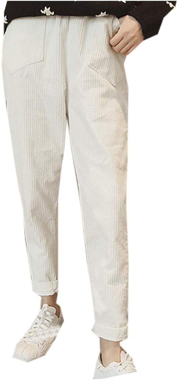 SUDADY Pantalones de Mujer a la Moda, Pantalones Casuales ...