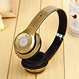 S460 Wireless Bluetooth 3.0 Stereo Headphone Headset Earphone for Mobile Phone(gold)