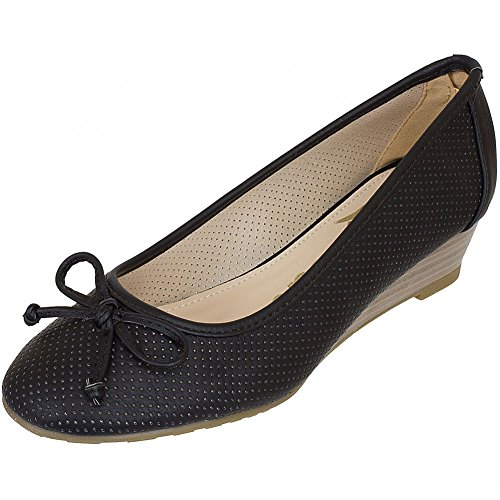nero Shoes Nero Nero donna Ballerine Refresh nero 6ARn6Yx