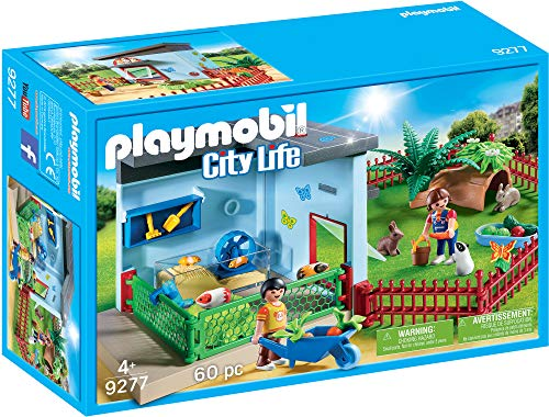 (PLAYMOBIL® Small Animal Boarding Multicolor)