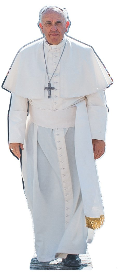 Pope Francis Life Size Cardboard Cutout SC940
