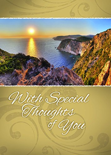 12 Boxed Thinking of You Greeting Cards - Across the Miles - KJV Scripture Included in Each Card! Bulk Thinking of You Cards & 12 Envelopes Boxed Cards Beautiful Landscape Photography Photo #5