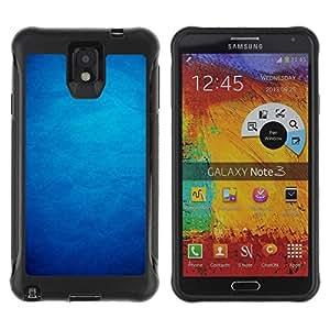 Suave TPU GEL Carcasa Funda Silicona Blando Estuche Caso de protección (para) Samsung Note 3 / CECELL Phone case / / Paper Wallpaper Pattern Shadow Dark /