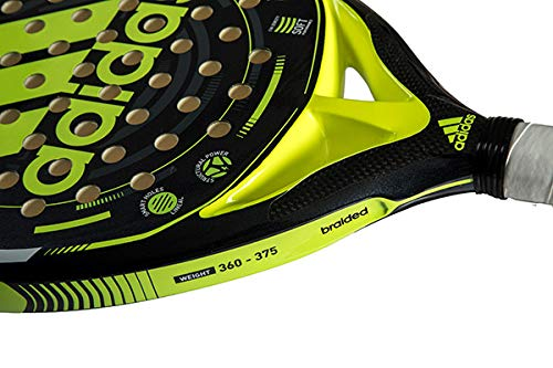Amazon.com : adidas V600 Lime/Charcoal/Black Intermediate Padel Racket : Sports & Outdoors