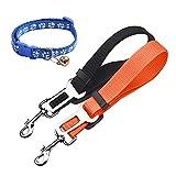 MESIMME 2 Packs Dog Seat Belt, Pet Dog Cat Car Seat Belt Safety, Adjustable Nylon Dog Safety Belt, Pet Leash Review