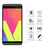 [2 Pack] LG V20 Screen Protector,BIUZKO 9H Hardness Anti-Scratch Anti-Fingerprint Premium HD Clear Ballistic Glass Case Friendly with Lifetime Replacement Warranty
